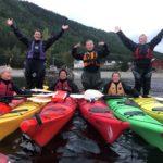 Kanokurs på Sandviken Camping