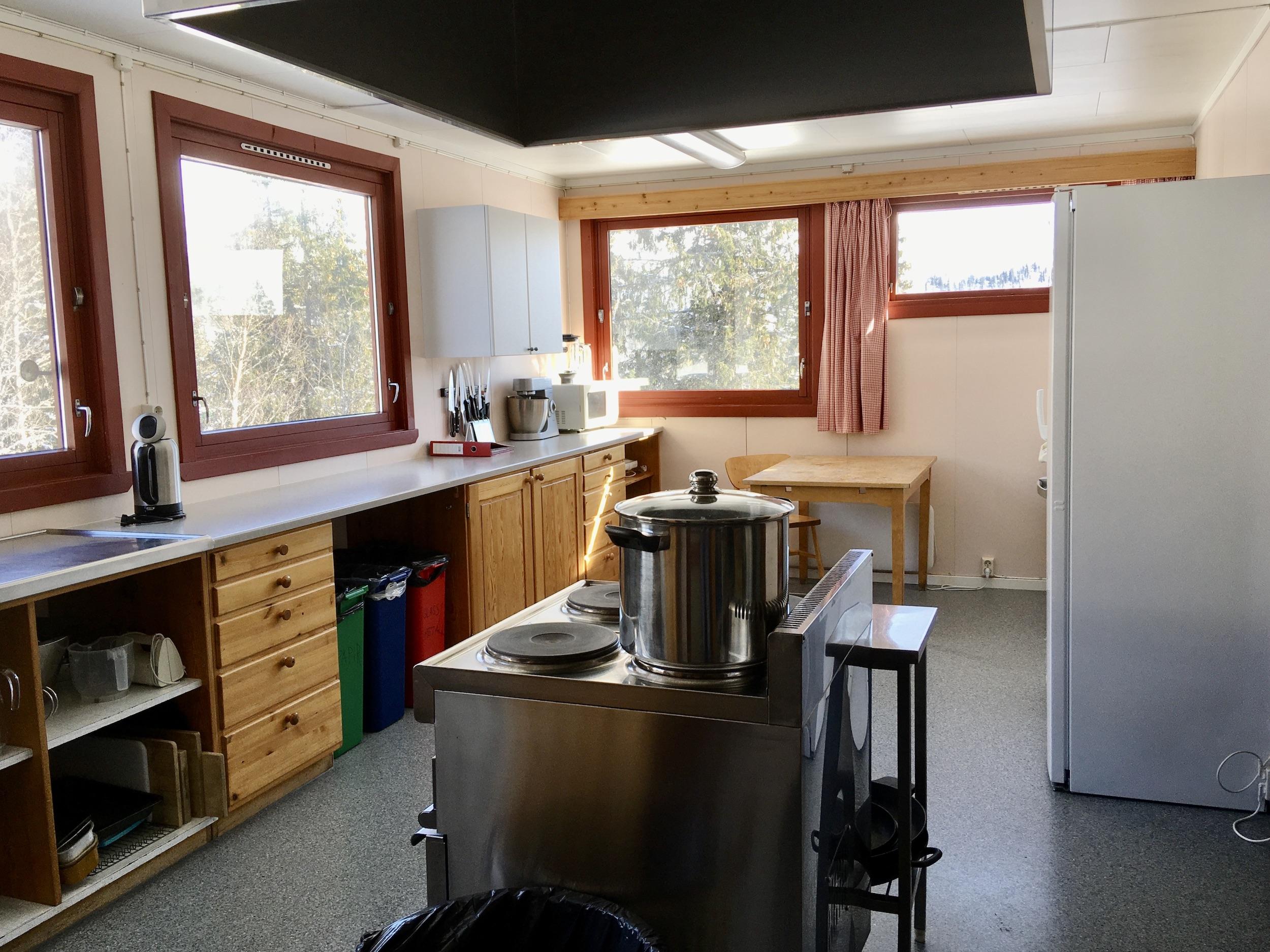 Skirva Fjellkyrkje kjøkken