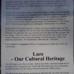 Lure Kulturminneområde- Tinn